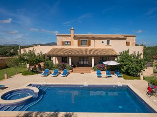 6 bedroom Villa in Cala Ferrera, Balearic Islands, Spain : ref 5604695