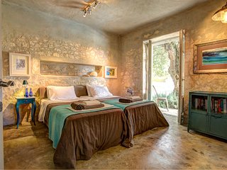 Tselentata Villa Sleeps 4 with Pool Air Con and WiFi - 5604826