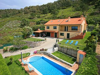 5 bedroom Villa in As Marinas, Galicia, Spain : ref 5604612