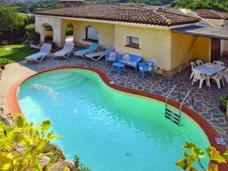 3 bedroom Villa in Poltu Quatu, Sardinia, Italy : ref 5491467