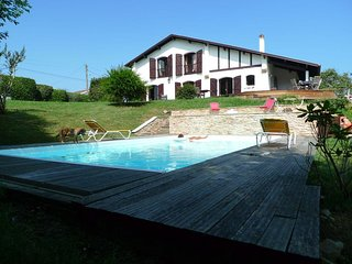 6 bedroom Villa in Guéthary, Nouvelle-Aquitaine, France : ref 5491372