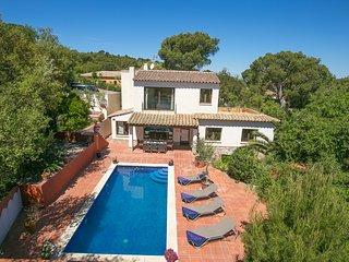 4 bedroom Villa in Esclanyà, Catalonia, Spain : ref 5604524