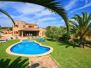 5 bedroom Villa in es Llombards, Balearic Islands, Spain : ref 5604701