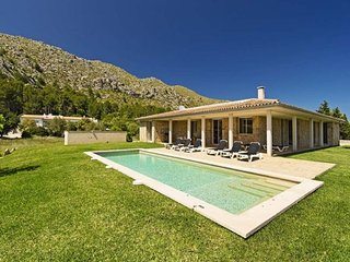 4 bedroom Villa in Cala San Vicente, Balearic Islands, Spain : ref 5490977