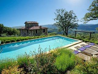 4 bedroom Villa in Preggio, Umbria, Italy : ref 5604869