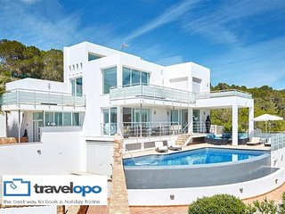 5 bedroom Villa in Cala Tarida, Balearic Islands, Spain : ref 5491520