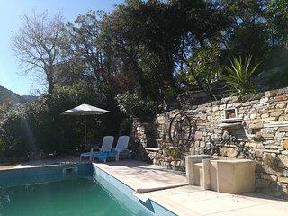 Location de studio dans une villa de charme au cœur du golfe de Saint-Tropez
