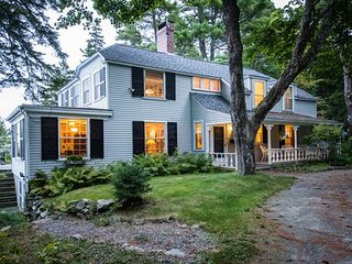 Historic Oceanfront Estate with Stunning Ocean Views, In Acadia National Park