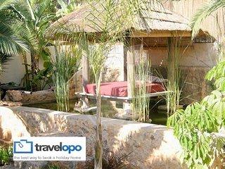 6 bedroom Villa in Cala Tarida, Balearic Islands, Spain : ref 5491519