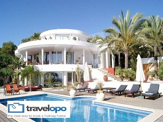 6 bedroom Villa in Cala Tarida, Balearic Islands, Spain : ref 5491519