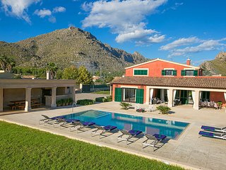 4 bedroom Villa in Port de Pollença, Balearic Islands, Spain : ref 5604669