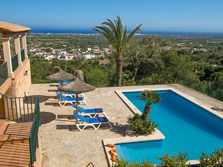 4 bedroom Villa in s'Horta, Balearic Islands, Spain : ref 5604703