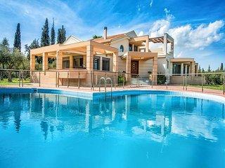 4 bedroom Villa in Chamouzas, Ionian Islands, Greece : ref 5491444