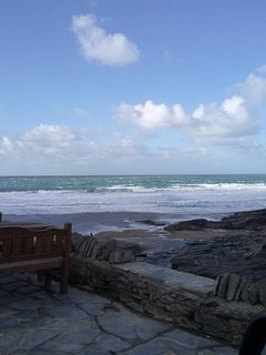 Trebarwith strand, great pub Port William by Tintagel, excellent views