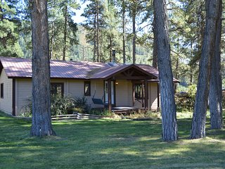 Cozy Cabin in the Pines! Quiet, relaxing, private, great views!