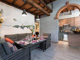 Casa Vacanze 'Le Stagioni di Bacco', immersa nella splendida campagna Toscana