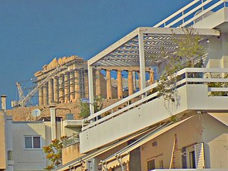 Acropolis View Vintage Loft