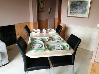 Apartment in Madrid with Internet, Air conditioning, Lift, Washing machine (9232