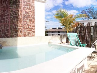 La Playa Loft.Private terrace&chill pool.Close to 5th&the beach.Free beach club