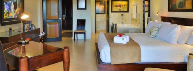 The bedrooms are luxurious.With daily housekeeping you can just relax the entire trip.
