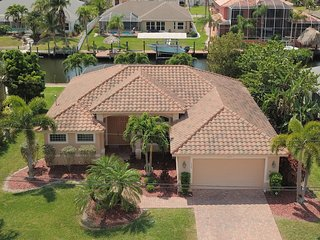 4 bedroom waterfront villa with gulf access