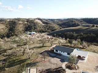 Vines & Views near Paso Robles. New Designer Cottage. Free Wine Tasting