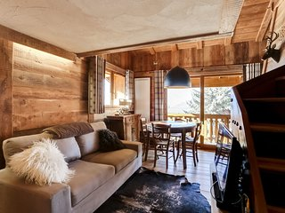 Beautiful duplex in comfortable and cozy chalet