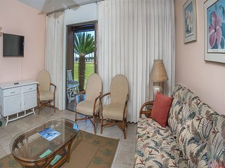 Live Local Style! Private Lanai, Ocean View, Kitchen, Flat Screen TV+Ceiling
