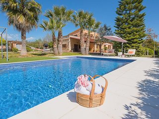 Villa 8 pax, private pool, TV Sat,  Wifi,  A/C, Barbacue,  in Biniali - Mallorca