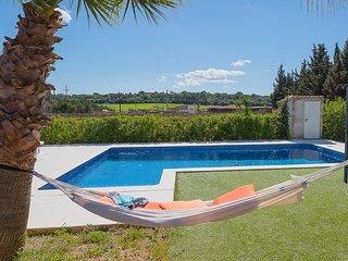 Villa 8 pax, private pool, TV Sat,  Wifi,  A/C, Barbacue,  in Biniali - Mallorca