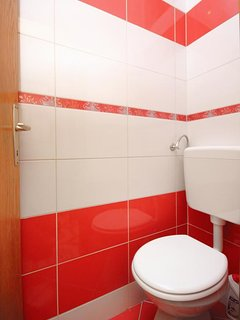 Toilet 2, Surface: 1 m²