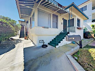 Charming 1BR Near Long Beach Harbor - Walk to Beach, Coastal Bluffs