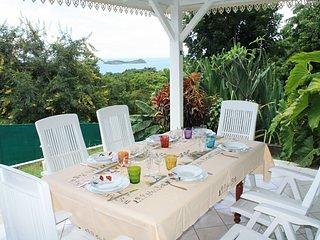 Villa 3 chambres, 120m2,  vue mer et piscine