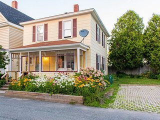 A Freshly Renovated Historic Bar Harbor Home In Quiet Downtown Neighborhood