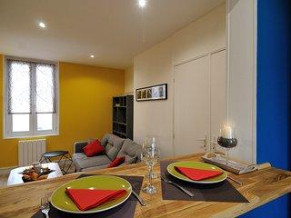 Appartement élégant ensoleillé et tout équipé en centre-ville