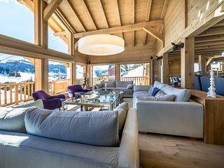 Chalet luxe OSCAR centre Les Gets, sauna & jaccuzi