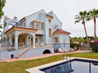 First line semidetached villa, Puerto Banus, Marbella