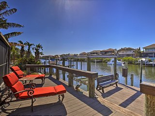 NEW! Apollo Beach House w/ Private Pool & Dock!