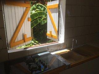 Studio rez de jardin côte sous le vent guadeloupe