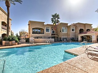 NEW! Scottsdale Condo Steps to TPC Golf Course!