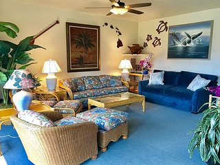 NEW! Kaha Lani #202, Ocean and Pool View, Hidden Jewel, Steps to Beach