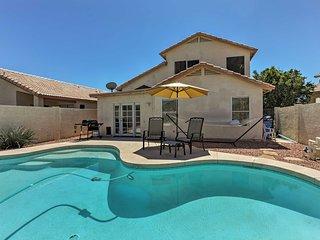 NEW! Glendale Home- Pool & Patio w/Mountain Views!