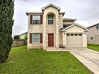 San Antonio House w/ Patio & Private Backyard!