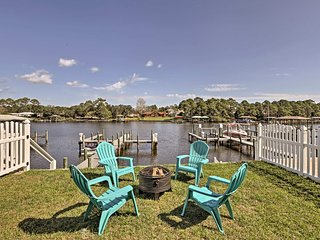 NEW! 4BR Panama City Beach Home w/ Private Dock!