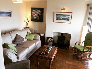 Sitting Room with loch views