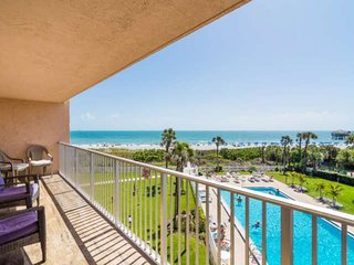 January 2020 available! Ocean Views from this Cocoa Beach Condo with Heated Pool