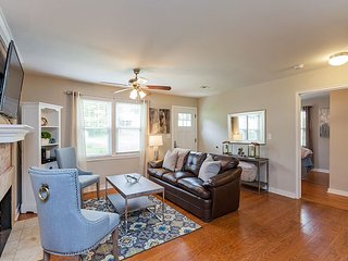 Stylish & Sunny 3BR Townhome w/ Huge Yard