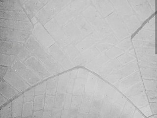 Abitazione dell'800 in pietra leccese con volte a stella e muri facce vista