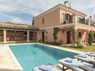 5 bedroom Villa in Marbella, Andalusia, Spain : ref 5606917