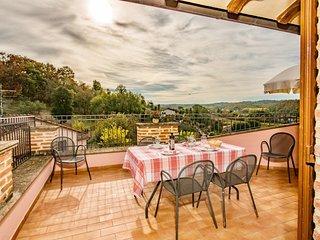 3 bedroom Apartment in Popoltaio-Schiacciato, Umbria, Italy : ref 5606847